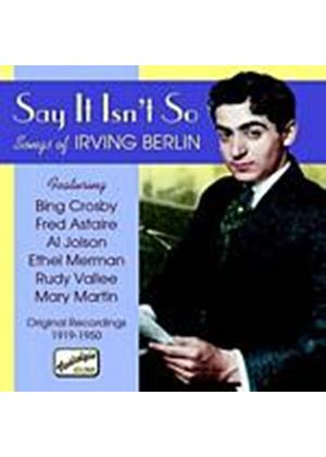 Various Artists - Say It Isnt So: Songs Of Irving Berlin (Music CD)