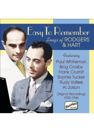 Various Artists - Easy To Remember (Songs Of Rodgers & Hart)