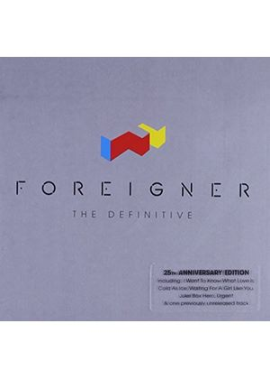 Foreigner - The Definitive (Music CD)