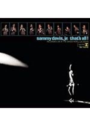 Sammy Davis - Thats All (Music CD)