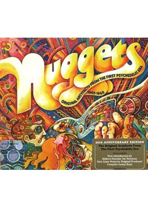 Various Artists - Nuggets (Original Artyfacts from the First Psychedelic Era 1965-1968) (Music CD)
