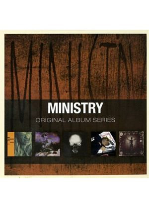Ministry - Original Album Series (5 CD Box Set) (Music CD)