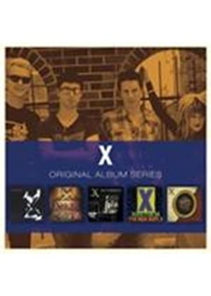X - Original Album Series (5 CD Box Set) (Music CD)