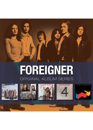 Foreigner - Original Album Series (5 CD Box Set) (Music CD)