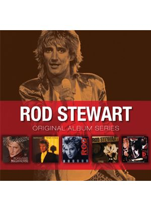 Rod Stewart - Original Album Series (5 CD Box Set) (Music CD)