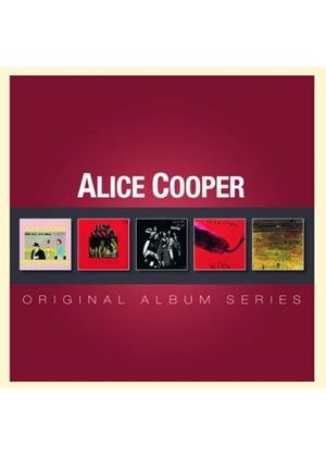 Alice Cooper - Original Album Series (5 CD Boxset) (Music CD)