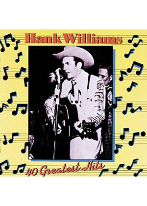 Hank Williams - Hank Williams/40 Greatest Hits (Music CD)
