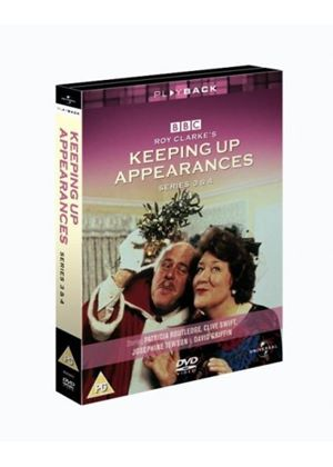 Keeping Up Appearances - Series 3 And 4 (Box Set) (Three Discs)