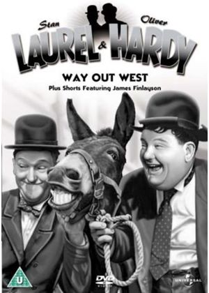 Laurel And Hardy - No. 3 - Way Out West Plus Shorts