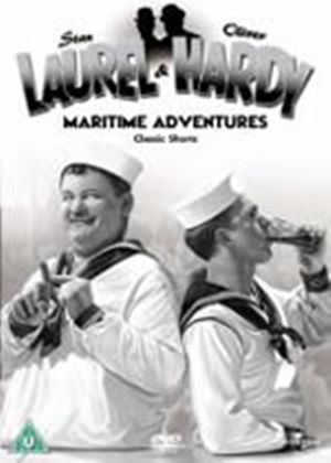 Laurel And Hardy - No. 16 - Maritime Adventures - Classic Shorts (DVD