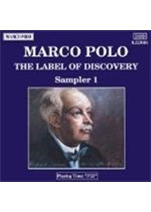 VARIOUS COMPOSERS - Marco Polo - The Label Of Discovery: Sampler 1