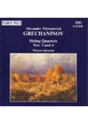 Grechaninov: String Quartets
