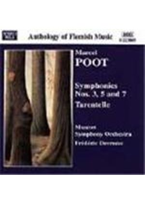 Poot: Symphonies Nos 3, 5 and 7