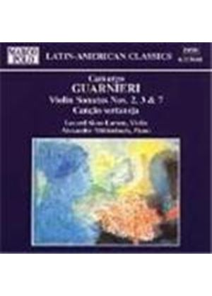 Guarnieri: Violin Sonatas Nos 2,3 and 7