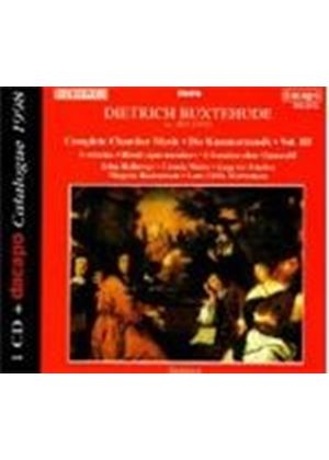 Buxtehude: Chamber Works, Vol. 3