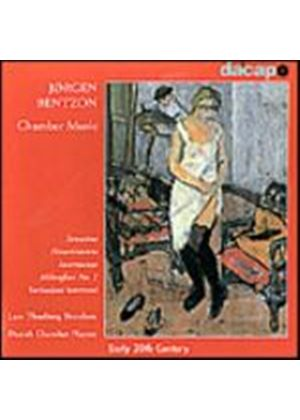 Jorgen Bentzon - Chamber Music (Bertelsen, Danish Chamber Players) (Music CD)
