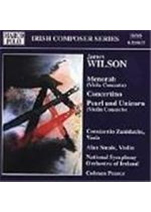 James Wilson: Menorah; Concertino; Pearl & Unicorn