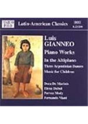 Gianneo: In the Altiplano; 3 Argentinian Dances; Music for Children