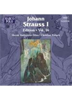 Strauss, J I: Edition, Vol 16 (Music CD)