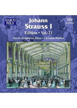Johann Strauss Edition, Vol. 21 (Music CD)