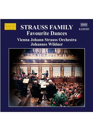 Strauss: Favourite Dances (Music CD)