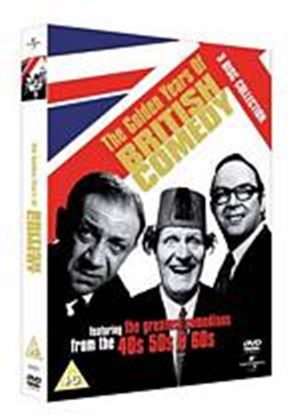 Golden Years Of British Comedy 40S 50S 60S