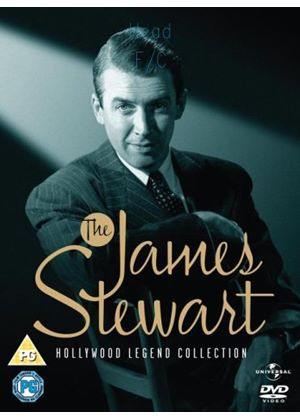 James Stewart Collection Box Set (5 Discs)   Vertigo, Rear Window, Harvey, Winchester 73, Destry Rides Again