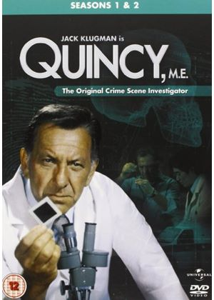 Quincy M.E. - Series 1 And 2 (Box Set) (Six Discs)