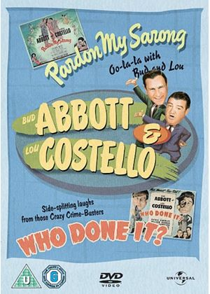 Abbott And Costello - Pardon My Sarong/Who Done It