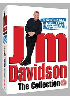 Jim Davidson - Red White And Very Blue/Jim's Silver Jubilee/Live 2006 (Box Set)(3 Disc)