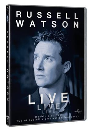 Russell Watson 2002 And The Voice Live