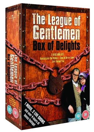 League Of Gentlemen - Box Of Delights - The League Of Gentlemens Apocalypse/Live At Drury Lane/...Are Behind You