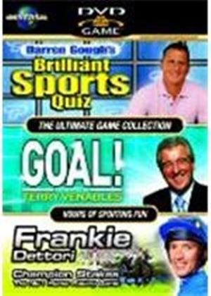 The Ultimate Game Collection - Darren Gough's Brilliant Sports Quiz/Terry Venables' Goal/Frankie Dettori - Champion Stakes (Box Set)(3 Disc)