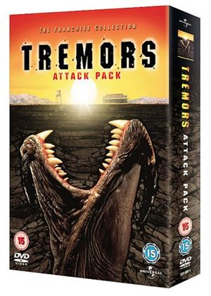 Tremors - Attack Pack - Tremors / Tremors 2 - Aftershocks / Tremors 3 - Back To Perfection / Tremors 4 - The Legend Begins