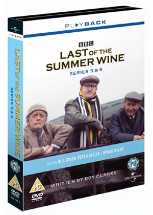 Last Of The Summer Wine Series 5 And 6 Complete