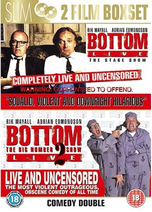 Bottom Live - The Stage Show/Bottom - The Big Number 2 Tour Live (Two Discs)