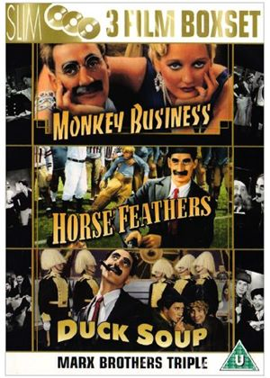 Marx Brothers Collection - Monkey Business / Horse Feathers / Duck Soup