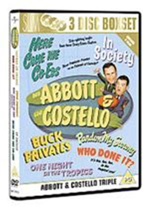 Abbott And Costello Collection - Pardon My Sarong / Buck Privates / Here Come The Co-eds / Who Done It  / One Night In The Tropics / In Society