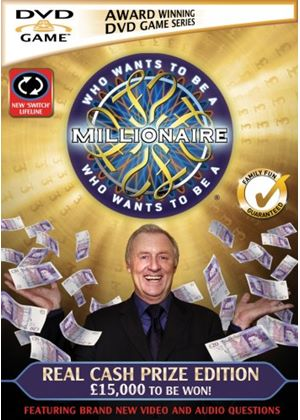 Who Wants To Be A Millionaire - Real Cash Prize Edition (DVDi)