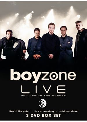 Boyzone: Live And Behind The Scenes - Live At The Point  & Live At Wembley & Said And Done (Music 3DVD Boxset)