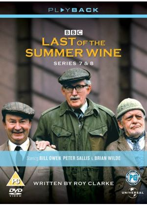 Last Of The Summer Wine - Series 7 And 8 - Complete