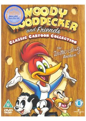 Woody Woodpecker And His Friends Vols. 1-4