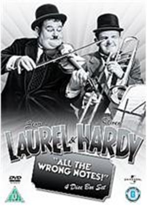 Laurel And Hardy - All The Wrong Notes Collection - The Bohemian Girl/ Saps At Sea/Swiss Miss/Way Out West