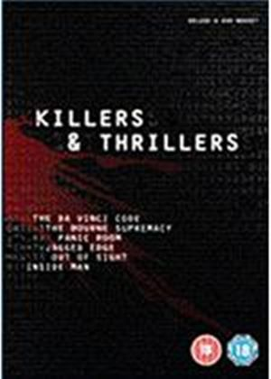 Killers And Thrillers Collection - The Da Vinci Code / Panic Room / Jagged Edge / The Bourne Supremacy / Inside Man / Out Of Sight