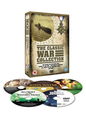 Classic War Collection - Bridge On The River Kwai / Das Boot / Guns Of Navarone / All Quiet On The Western Front / Sands Of Iwo Jima