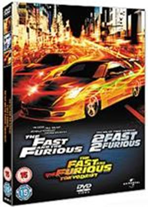 Fast And The Furious / 2 Fast 2 Furious / The Fast And The Furious - Tokyo Drift
