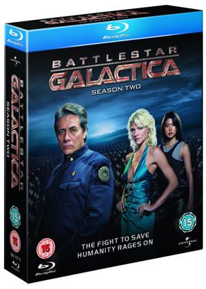 Battlestar Galactica - Season 2 (Blu-Ray)