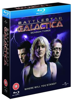 Battlestar Galactica - Season 3 (Blu-Ray)