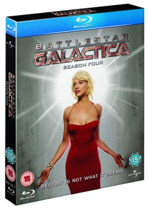 Battlestar Galactica - Season 4 (Blu-Ray)