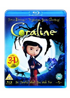 Coraline (2D and 3D) (Blu-Ray)